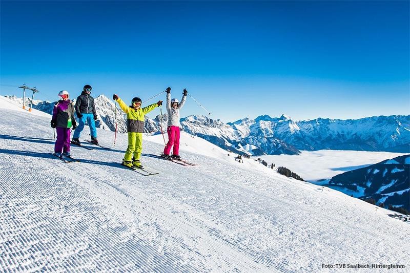 Mit dem Skicircus Saalbach-Hinterglemm Leogang Fieberbrunn befindet sich das größte zusammenhängende Skigebiet quasi direkt vor der Haustür. Der Skibus bringt Dich direkt zur Talstation in Fieberbrunn!