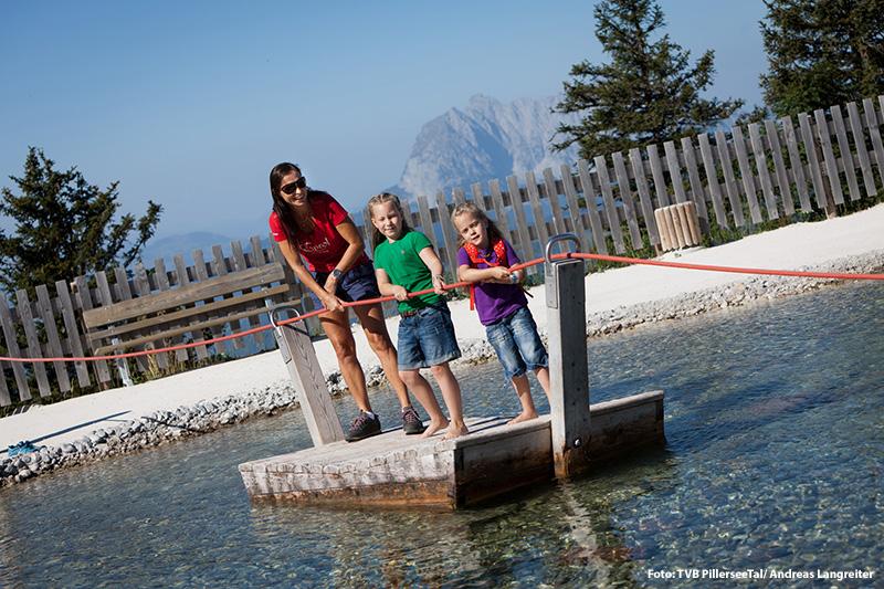 Der Triassic Park auf der Steinplatte in Waidring ist ebenfalls eine super Attraktion nicht nur für Familien