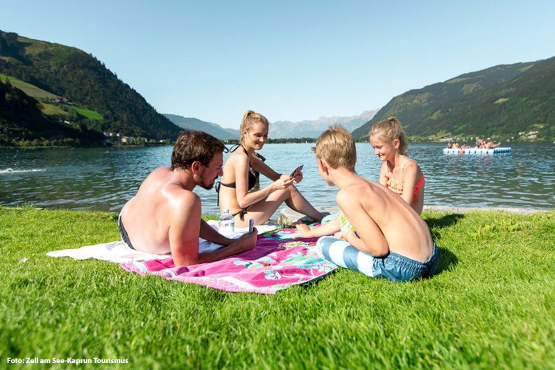 Badeurlaub am Zeller See