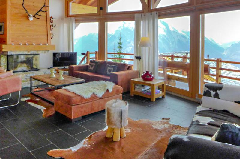 4-Sterne Ferienhaus Sebas im Wallis