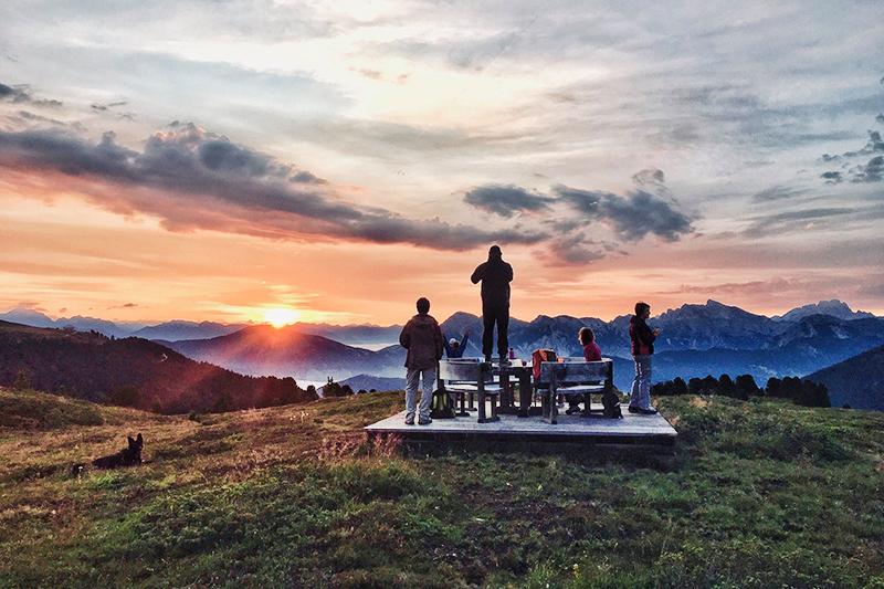 Ein Wanderurlaub in Südtirol mit der Familie - im Familienhotel Bergschlössl findest Du die passende Unterkunft dafür!