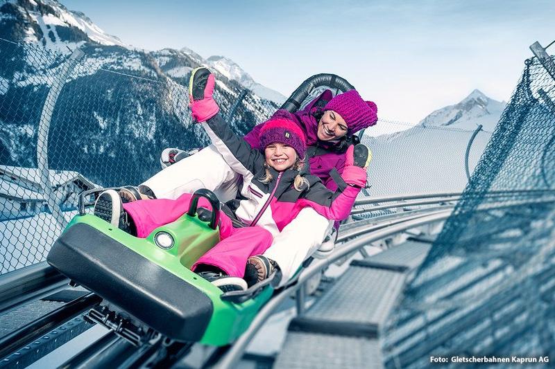 Maisi Flitzer Ganzjahres-Rodelspaß am Alpine Coaster