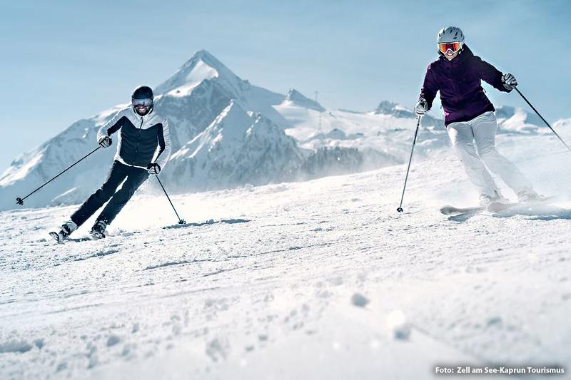 Unendliches Wintersportvergnügen garantieren 408 bestens präparierte Pisten-km