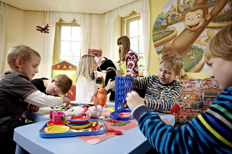 Kinderclub mit individuellem Programm