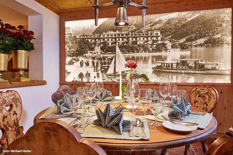 2 Elegante Restaurants Kaisersaal und Belvedere