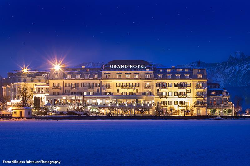 Hotel Ansicht am Abend