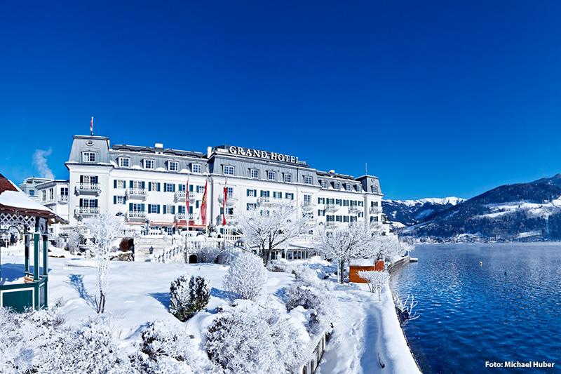 Winterurlaub im 4-Sterne Superior GRAND HOTEL ZELL AM SEE auf einer privaten Halbinsel