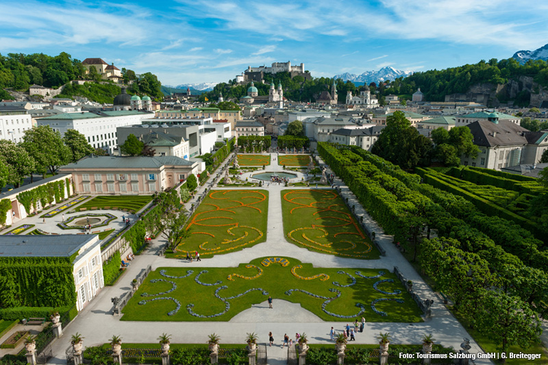 Schloss Mirabell und Mirabellgarten – barocker Lustgarten in der Innenstadt