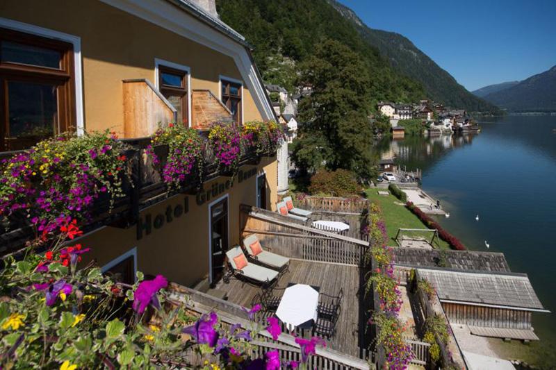 Aussicht aus dem Balkon