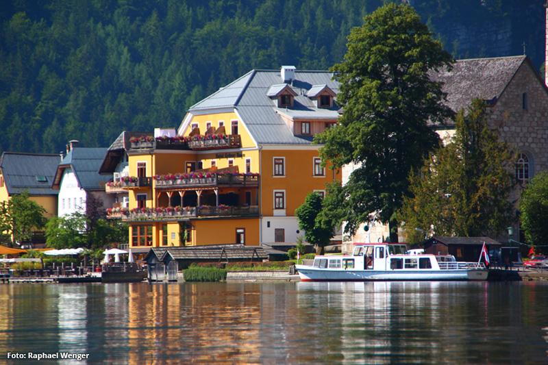 Hallstatt pur: das Seehotel Grüner Baum