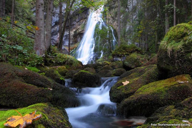 Naturschauspiel Gollinger Wasserfall