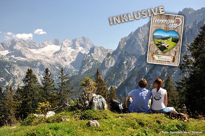 Genieße den Bergsommer in der Wanderregion Dachstein West  inklusive Tennengau-Card