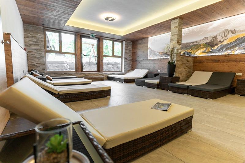 Sauna-Relaxzone