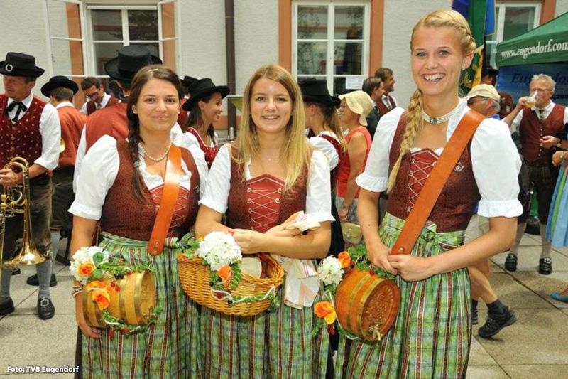 Brauchtum in Eugendorf - Marketenderinnen