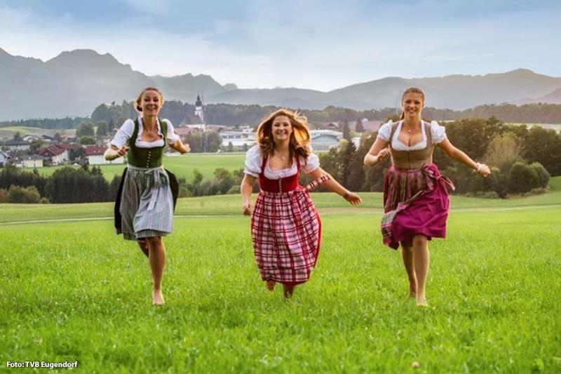 Freude auf den Urlaub in Eugendorf