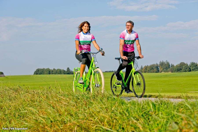 Radfahren wird in Eugendorf groß geschrieben
