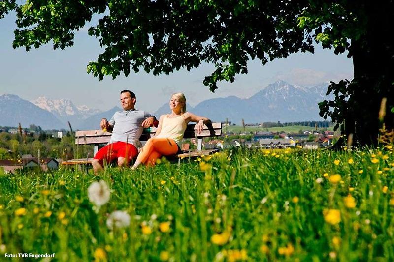 Sonne PUR genießen in Eugendorf