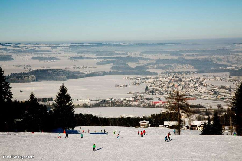Der Winter in Eugendorf hat einiges zu bieten