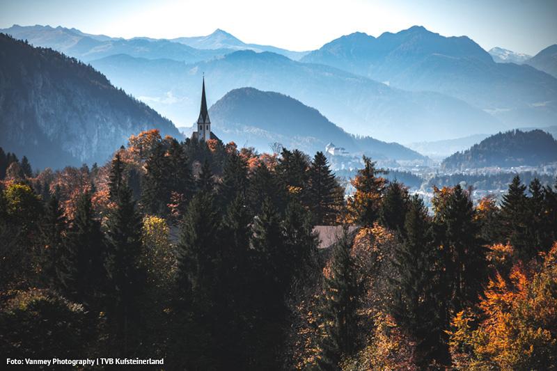 Kufsteinerland im Herbst