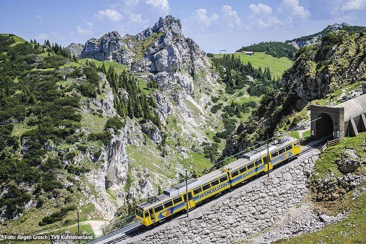 Den unvergessliche Berg-Erlebniss mit der Wendelsteinbahn Brannenburg darfst Du dir nicht engehen lassen!