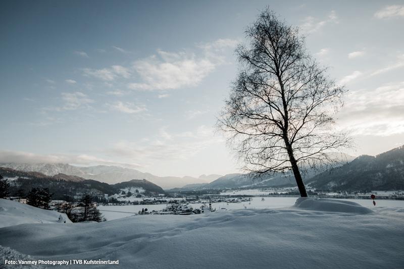 Eine schöne Winterlandschaft erwartet Dich in Erl