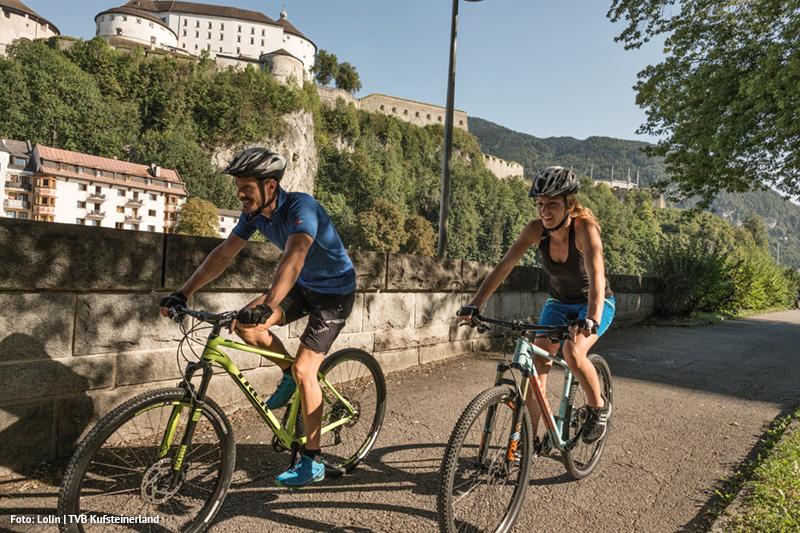 Innradweg Radfahren in Kufstein