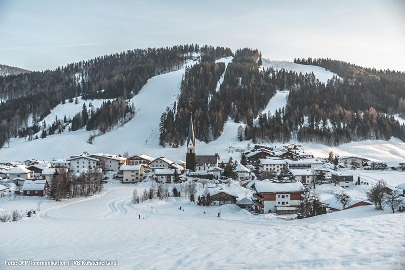 Entdecke die traumhafte Winterlandschaft in Thiersee auf Langlaufskiern