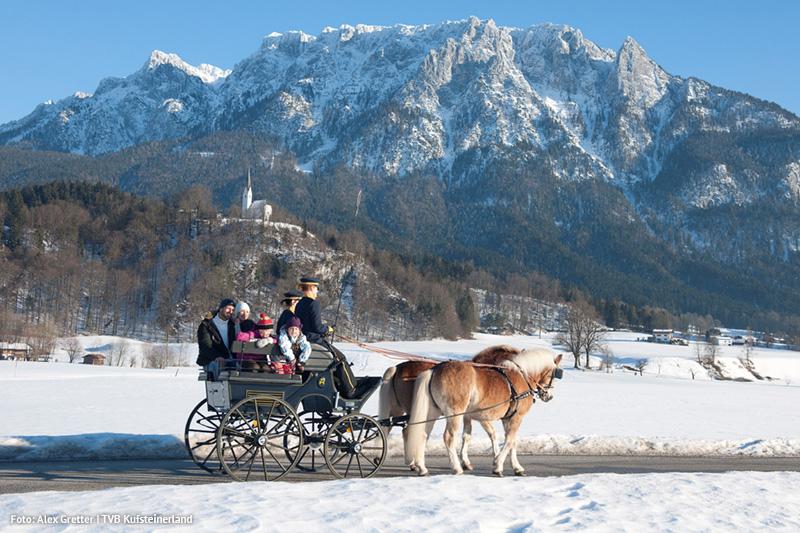 Pferdekutschenfahrt in Ebbs