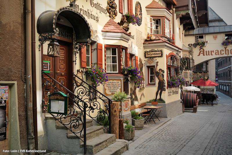 Altstadt mit Charme - besonders die Römerhofgasse offenbart die charmante Vergangenheit der Festungsstadt