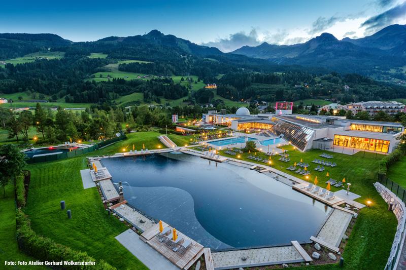 Die Alpentherme Bad Hofgastein erreichst Du in 45 Minuten mit dem Auto