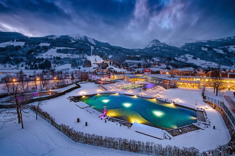 Du suchst nach Entspannung? Wie wäre es mit bisschen Wellness? In der Alpentherme Bad Hofgastein