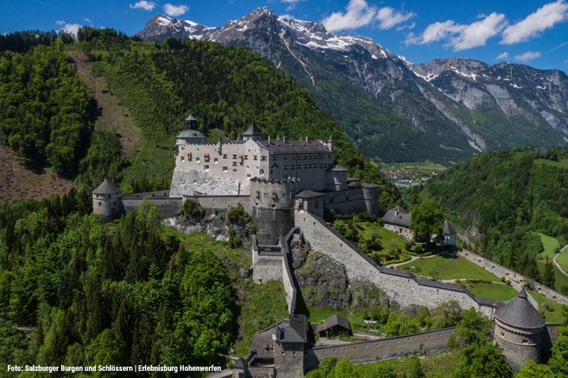 Die Burg Hohenwerfen ist ein MUSS für jede Familie und ist ein traumhaftes Ausflugsziel im Land Salzburg