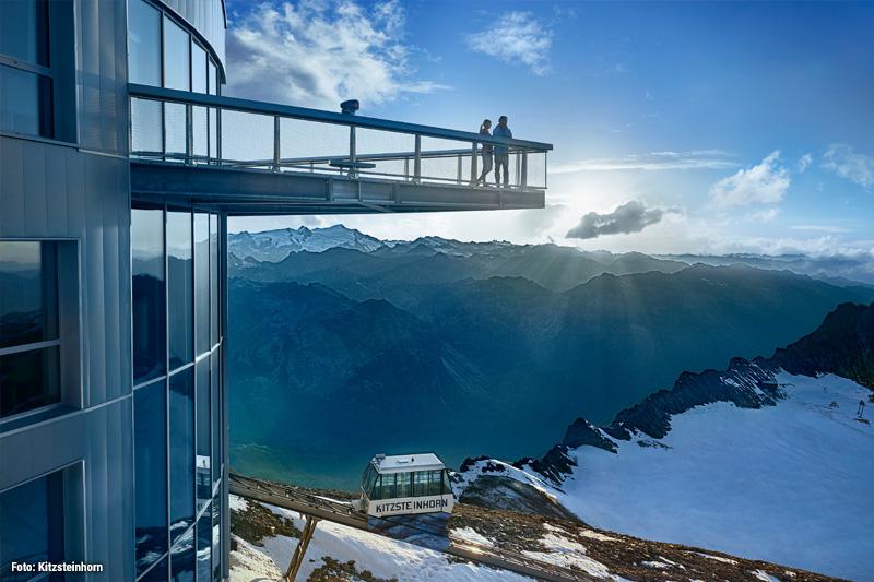 Kitzsteinhorn -  Top of Salzburg Aussichtsplattform auf 3.029 Metern