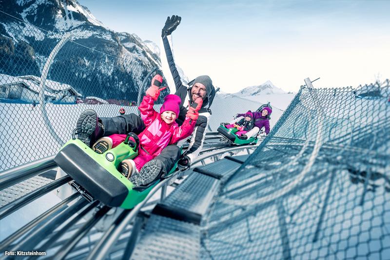 Maisi Flitzer - da strahlen nicht nur die Kinderaugen! Ganzjahres-Rodelspaß am Alpine Coaster
