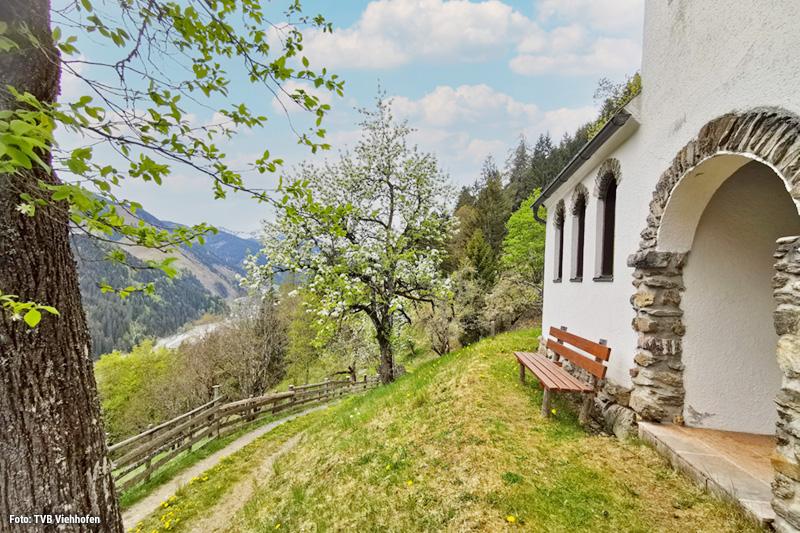 Besondere Niederbrandkapelle in Viehhofen