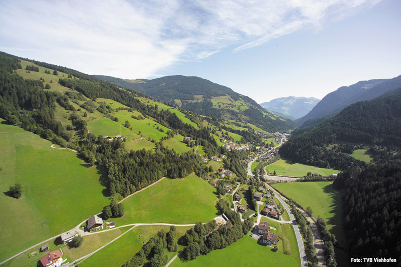 Sommerurlaub im Familiendorf Viehhofen punktet mitten im Herzen des Salzburger Landes