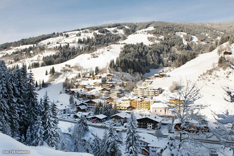 Winterurlaub im Familiendorf Viehhofen punktet mitten im Herzen des Salzburger Landes