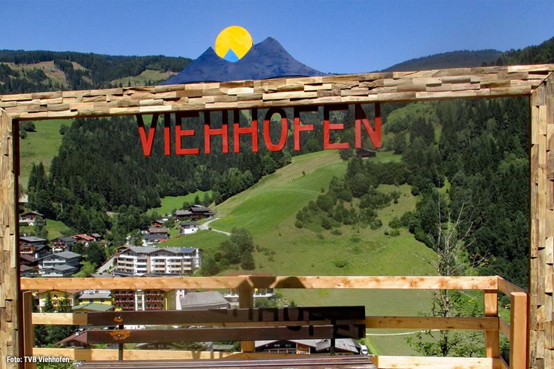 Fotopoint Viehhofen - halte deinen Urlaub mit einem Foto fest und erinnere dich an deinen tollsten Bergurlaub!