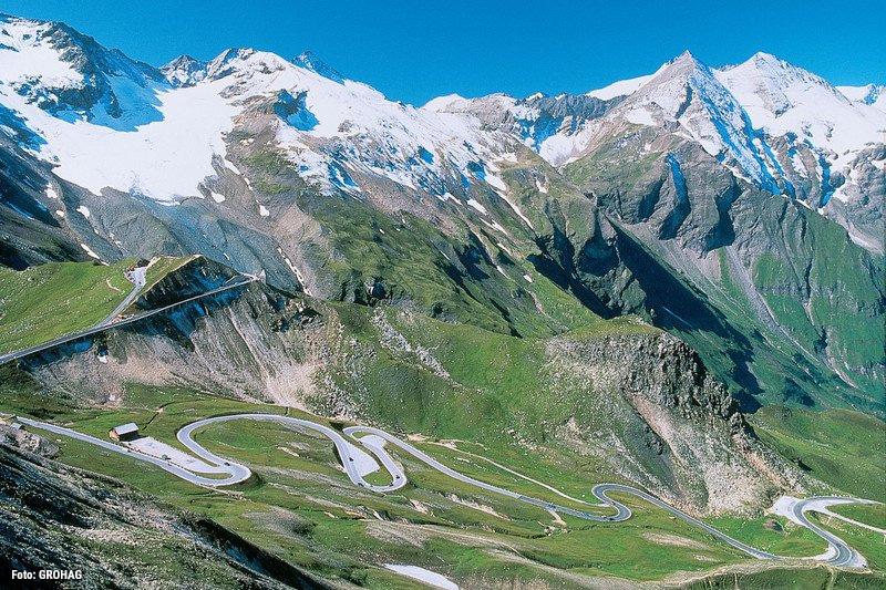 Grossglockner Hochalpenstraße, dies ist die höchste Passstraße Österreichs