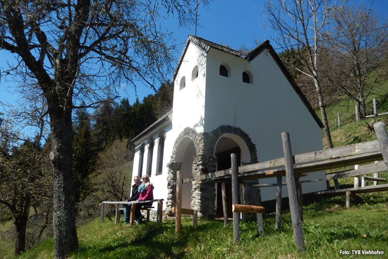 Niederbrandkapelle - Kraftort in Viehhofen