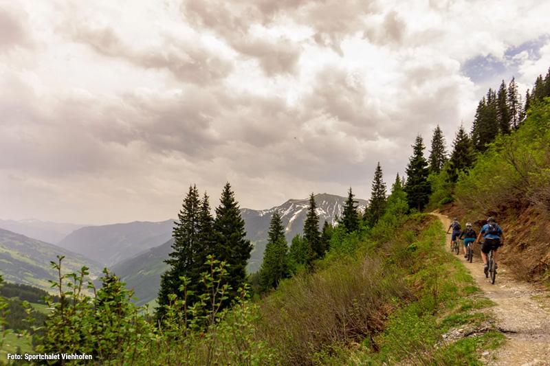 Glemmtal ist ein echtes Paradies für Aktivurlauber, denn es ist ein wahrer Bike-Eldorado