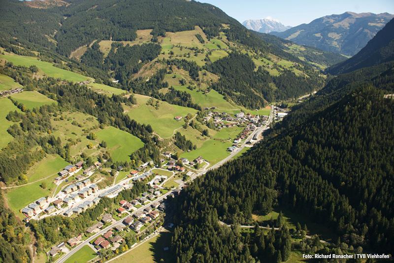 Im Herzen des Salzburger Landes liegt das charmante Ort Viehhofen