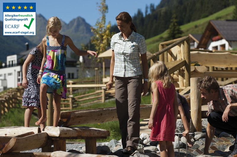 Mit der Silvretta-Card ist das Familien- und Kinderprogramm des Tourismusverbandes Paznaun gratis