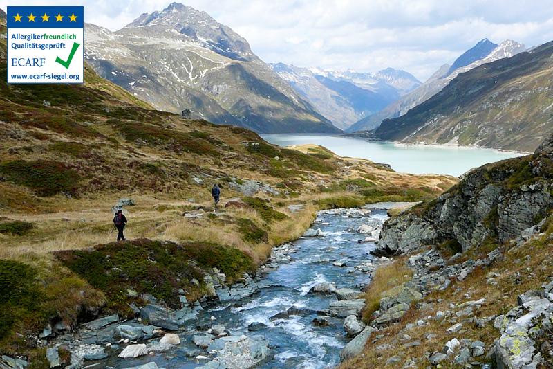 Für Herbstwanderer hat das Wanderhotel bis Anfang Oktober geöffnet