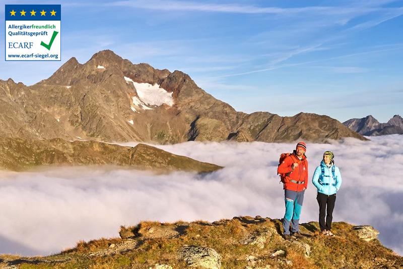 Etappenwandern auf dem Paznauner Höhenweg