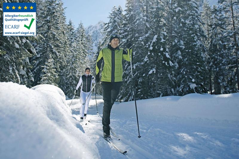 Genussvoller Langlaufurlaub in der Silvretta-Region