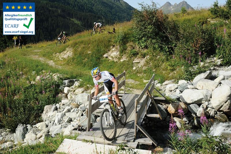 Galtür und das gesamte Paznaun sind ein Paradies für Mountainbiker und bekannt für anspruchsvolle Mountainbike-Strecken