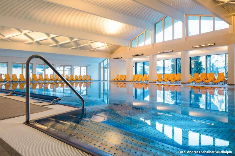 Quellalpin im Kaunertal mit 20 m x 12 m Schwimmbecken und Saunalandschaft