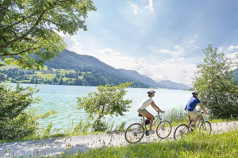 Die einmalige Kombination aus Bike- und Badespaß ist ideal für Genussradler