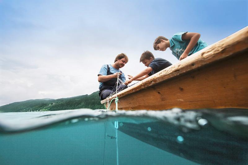 Der Weissensee ist ein Eldorado für Seefischer